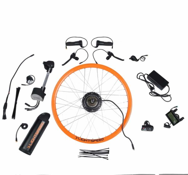 Coversion kit for a normal bicycle